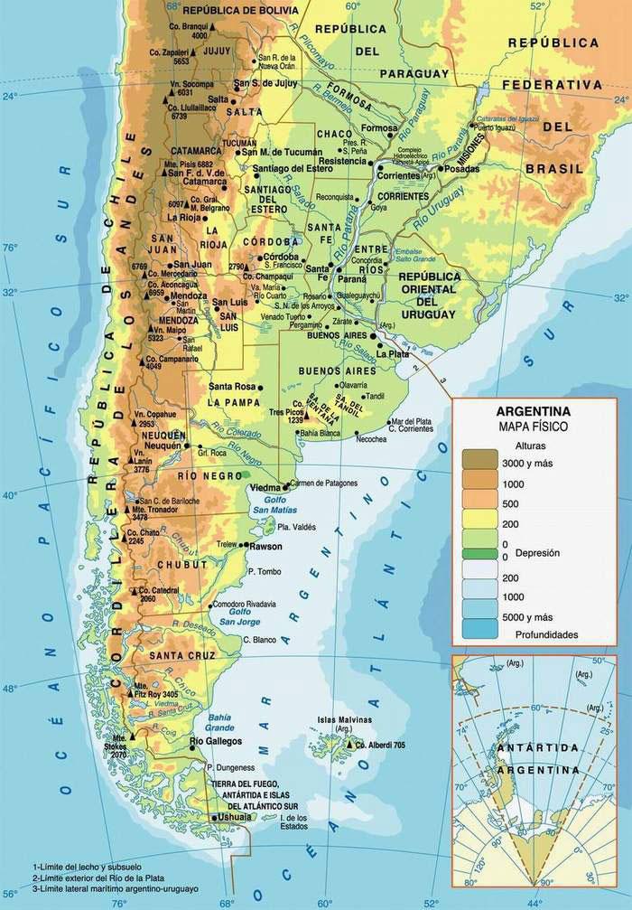 Climbing with Bob - Cerro Ramada - Map - ArgentinaArgentina